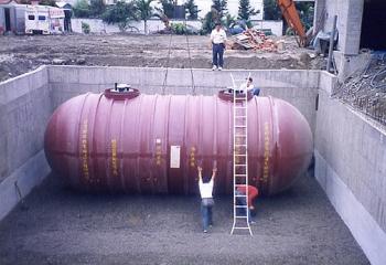地下儲油槽製裝工程