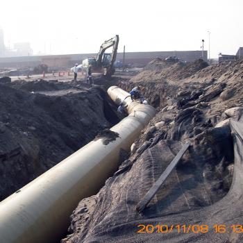 台中台肥1200管件施工