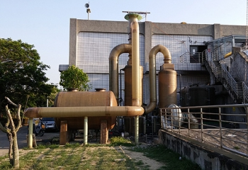 台中福田水資源回收中心除臭設備02
