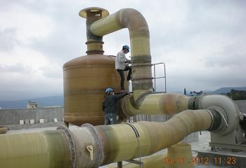 后里污水廠設備安裝